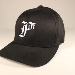 F3 black cap front