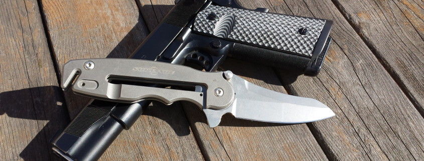 1911 and Knife