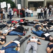 Die in protest