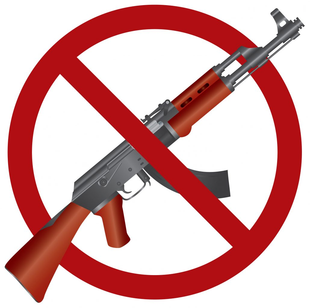 banning the guns In a routine decision, the secret service is banning guns (along with selfie sticks, backpacks, drones, and a list of other items) from pence's speech at the nra convention in dallas just as.