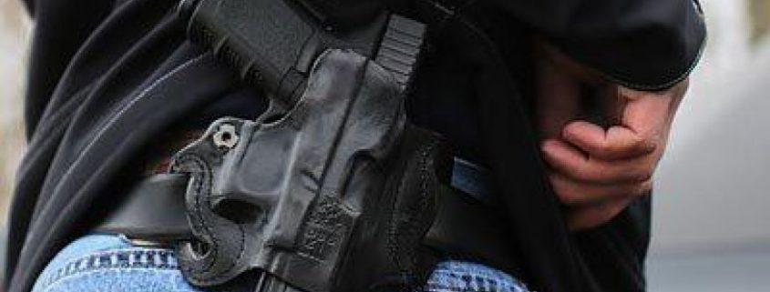 Holstered Glock